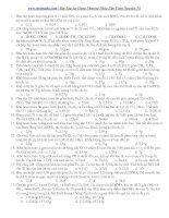 Bài tập áp dụng phương pháp bảo toàn nguyên tố ppsx