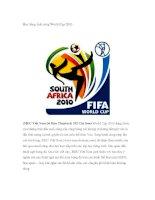 Học tiếng Anh cùng World Cup 2010 pdf