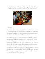 Sáng kiến kinh nghiệm – Đổi mới một số biện pháp sinh hoạt tổ khối chuyên môn khối mẫu giáo nhằm nâng cao chất lượng giáo dục trẻ mầm non potx
