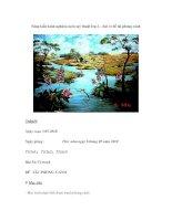Sáng kiến kinh nghiệm môn mỹ thuật lớp 2 – bài vẽ đề tài phong cảnh pot