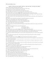 ÔN TẬP MÔN LÍ 12: HIỆN TƯỢNG QUANG ĐIỆN TRONG - QUANG TRỞ - PIN QUANG DIỆN pdf