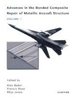 Advances in the Bonded Composite Repair o f Metallic Aircraft Structure phần 1 potx