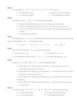 Đề trắc nghiệm toán 12 potx