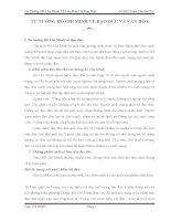 TƯ TƯỞNG HỒ CHÍ MINH VỀ ĐẠO ĐỨC VÀ VĂN HÓA doc