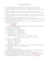 Bài tập hóa học phân tích ppt