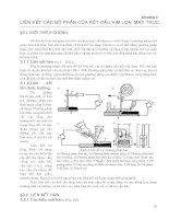 Chương 3: LIÊN KẾT CÁC BỘ PHẬN CỦA KẾT CẤU KIM LOẠI MÁY TRỤC potx