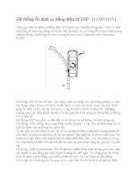 Hệ thống ổn định xe bằng điện tử ESP potx