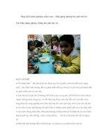 Sáng kiến kinh nghiệm mầm non – Biện pháp phòng béo phì cho trẻ Các biện pháp phòng chống béo phì cho trẻ docx