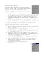 Cẩm nang tổ chức sự kiện - Một văn phòng báo chí có trách nhiệm 3 pps