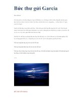 Bức thư gửi Garcia docx