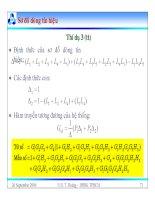 Bài giảng lý thuyết điều khiển tự động - Mô hình toán học, hệ thống điều khiển liên tục part 8 potx