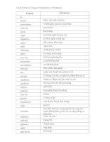 Grade 8 Science Glossary Translation in Vietnamese pdf