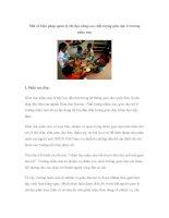 Một số biện pháp quản lý chỉ đạo nâng cao chất lượng giáo dục ở trường mầm non pdf