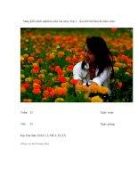 Sáng kiến kinh nghiệm môn âm nhạc lớp 2 – học hát bài hoa lá mùa xuân doc