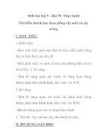 Sinh học lớp 9 - Bài 39: Thực hành Tìm hiểu thành tựu chọn giống vật nuôi và cây trồng docx