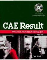 giáo trình cae result workbook with key