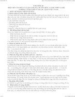 CHƯƠNG II: MỘT SỐ VẤN ĐỀ LÝ LUẬN CHUNG VỀ TỔ CHỨC LÃNH THỔ VÀ HỆ THỐNG LÃNH THỔ VÙNG DU LỊCH VIỆT NAM ppsx