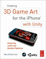 Creating 3D Game Art for the iPhone with Unity Part 1 docx