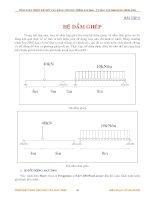 GIÁO TRÌNH TÍNH TOÁN KẾT CẤU VỚI SỰ TRỢ GIÚP CỦA MÁY TÍNH - PHẦN 2 pdf