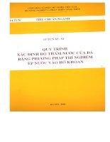 Tiêu chuẩn ngành 14 TCN 83 - 91 part 1 pot