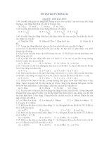 ÔN TẬP THI TN MÔN LÍ 12 Chủ đề 3: CON LẮC ĐƠN ppt