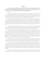 Tư tưởng Hồ Chí Minh: Câu 1: Phân tích những luận điểm cơ bản của Hồ Chí Minh về vấn đề độc pot