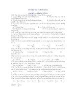 ÔN TẬP THI TN MÔN LÍ 12 Chủ đề 2: CON LẮC LÒ XO pdf