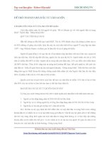 Dạy con làm giàu - ĐỂ TRỞ THÀNH NHÀ ĐẦU TƯ LÃO LUYỆN - 2 doc