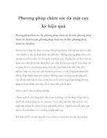 Phương pháp chăm sóc da mặt cực kỳ hiệu quả pdf