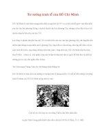Tài liệu Tư tưởng Hồ Chí Minh: Tư tưởng kinh tế của Hồ Chí Minh ppsx