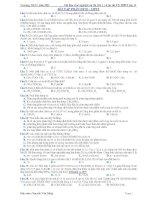 Tài liệu trắc nghiệm ôn thi HK 1 và ôn thi TN THPT lớp 12 - BÀI TẬP PHẦN ESTE - LIPIT pot