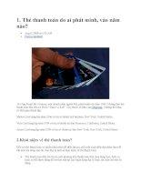 Tài liệu về thẻ tín dụng potx