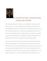 Doanh nhân lịch sử: Bảo Đại (Nguyễn Vĩnh Thụy) pdf