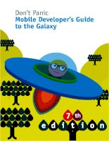 Don't Panic Mobile Developer's Guide to the Galaxy pps