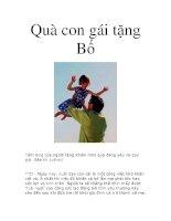 Quà con gái tặng Bố pdf
