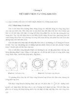 Tính toán tiết diện cột bê tông cốt thép - Chương 4 ppt