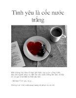 Tình yêu là cốc nước trắng pdf