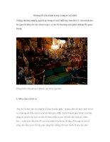 Những lối cần tránh trong trang trí nội thất docx