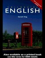 Colloquial English - A Complete English Language Course doc