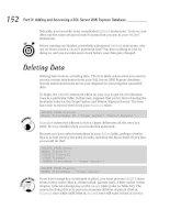 Microsoft SQL Server 2005 Express Edition for Dummies phần 5 pdf