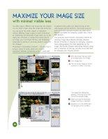 visual Adobe Photoshop CS3 Top 100 Simplified Tips & and trick phần 4 potx