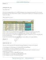Oracle Database 10g Administration ii Practice TestVersion phần 7 pot