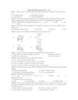 Đề ôn thi HKII môn hóa học - số 6 pot