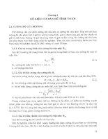 Tính toán thực hành cấu kiến bê tông theo tiêu cuẩn TCXDVN 356 2005 Tập 1 - Chương 2 pptx
