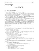 Bài giảng kỹ thuật số ứng dụng - Chương 4 pptx