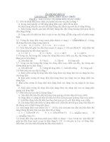 ÔN THI ĐH MÔN LÍ CHƯƠNG III : DÒNG ĐIỆN XOAY CHIỀU pot