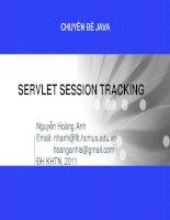 CHUYÊN ĐỀ JAVA_SERVLET SESSION TRACKING pdf