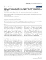 Gene therapy with an improved doxycycline-regulated plasmid encoding a tumour necrosis factor-alpha inhibitor in experimental arthritis pot