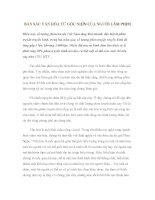 BẢN SẮC VĂN HÓA TỪ GÓC NHÌN CỦA NGƯỜI LÀM PHIM pot