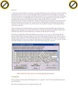 Giáo trình hướng dẫn cách xử lý máy tính khi bị nhiễm spyware phần 5 potx